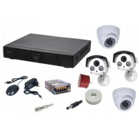 Sisteme supraveghere video cu 4 camere