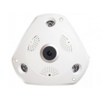 Camera supraveghere video AKU 360 Panoramic 960P Wireless IP 1.3MP infrarosu rezolutie HD