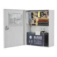 Sursa stabilizata in comutatie pentru 9 camere 5A in cutie de jonctiune cu backup
